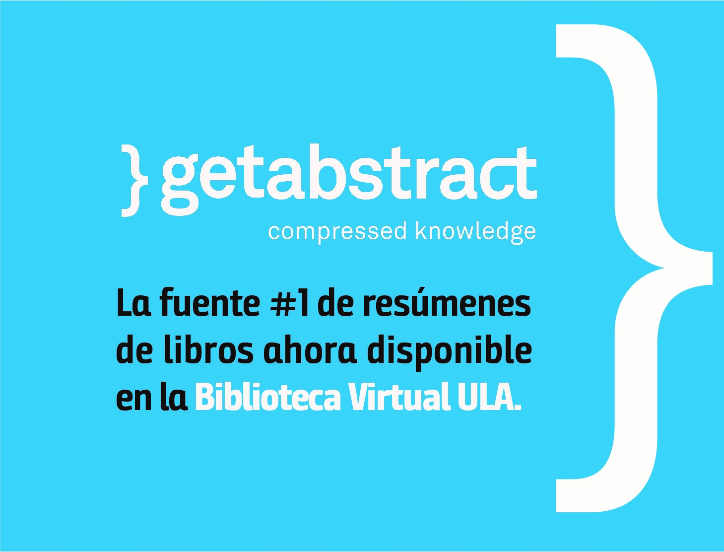 getAbstract ahora disponible en la Biblioteca Virtual ULA